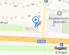 Компания Перекресток на карте города