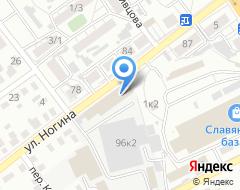 Компания Авторемонтный цех на ул. Ногина на карте города
