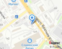 Компания Банкиръ на карте города