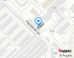 Компания Дэу Моторс Оренбург на карте города