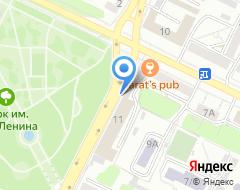 Компания Автосервис на карте города