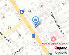 Компания Аудиторский вектор на карте города