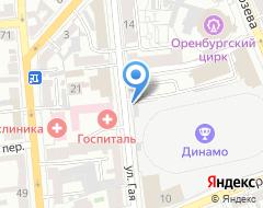 Компания Динамо на карте города