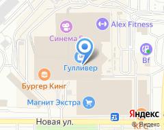 Компания М-виза на карте города