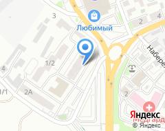 Компания Бизнес-Компас на карте города