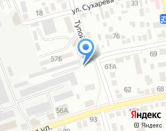 Компания МАКСАВТО на карте города