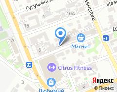 Компания ТАВИКА на карте города