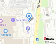 Компания Авангард Авто на карте города