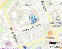 Компания Южный Урал на карте города
