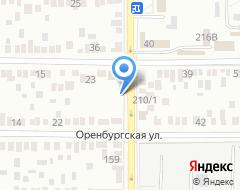Компания Мотор Импорт. Оренбург на карте города