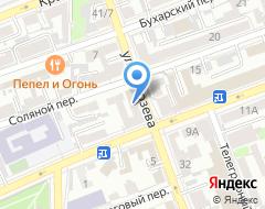 Компания Де-факто на карте города