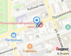 Компания Уралконсалт на карте города