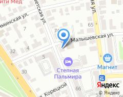 Компания Резерв-Урал на карте города
