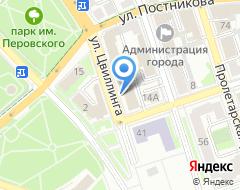 Компания ВТБ Банк Москвы на карте города