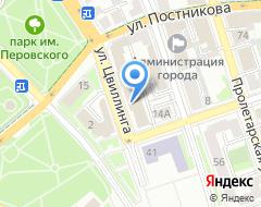 Компания Корпорация развития Оренбургской области на карте города