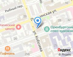 Компания Единая городская служба недвижимости на карте города