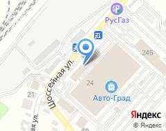 Компания Автодрайв на карте города