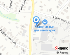 Компания ВВА МОТОРС на карте города