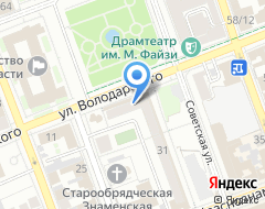 Компания Интерфейс на карте города