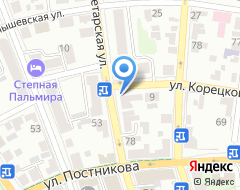 Компания Нотариус Каримова И.Х. на карте города
