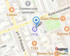 Компания Компания объединенных кредитных карточек на карте города