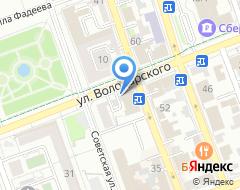 Компания Профи+ на карте города