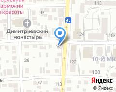 Компания Магазин автозапчастей на Комсомольской на карте города