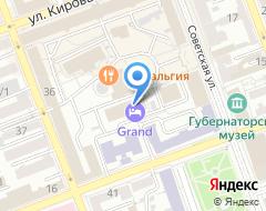 Компания ФОРТ на карте города