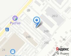 Компания Mustang на карте города