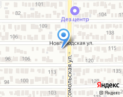 Компания Юркон на карте города