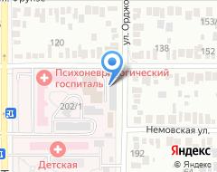 Компания Хонда на карте города