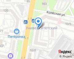 Компания Автопартнер на карте города