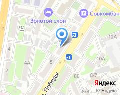 Компания Нотариус Максимова М.В на карте города