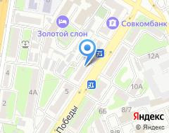Компания Нотариус Максимова М.В. на карте города