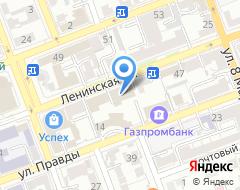 Компания Кредитный советникъ на карте города