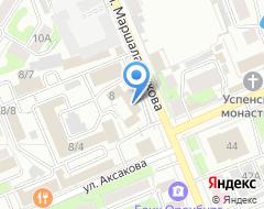 Компания Русский Бизнес Клуб на карте города