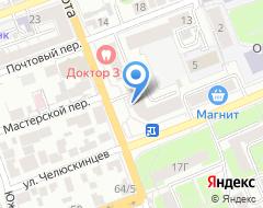 Компания Нотариус Лобанова Т.Н. на карте города