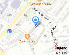 Компания Технокардан на карте города