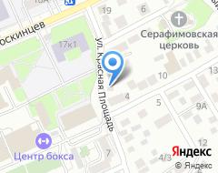 Компания Центр бухгалтерских услуг на карте города
