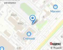 Компания Автодруг на карте города