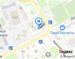 Компания АКБ Акцент на карте города
