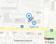Компания Антикор56 на карте города