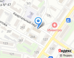Компания Защита права на карте города