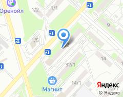 Компания Бюро переводов на карте города