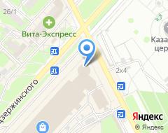 Компания Free Drive на карте города