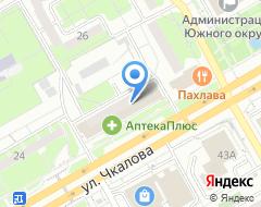 Компания Почта банк на карте города