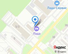 Компания Тектил-Центр на карте города