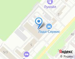 Компания Лада-Сервис на карте города