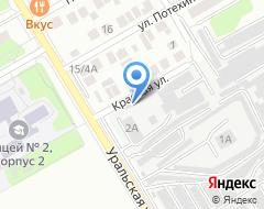 Компания Автотехсервис на карте города