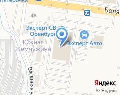 Компания ЭКСПЕРТ СВ ОРЕНБУРГ на карте города